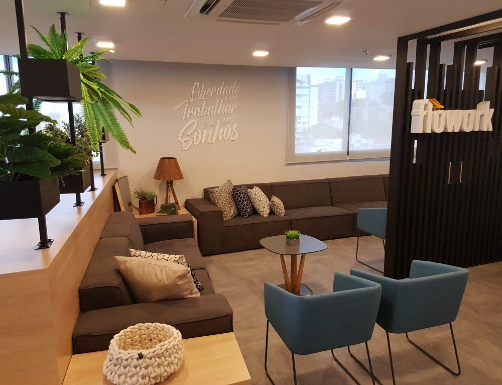 Flowork já opera com 2.700 m² em Porto Alegre e este ano chega a Curitiba