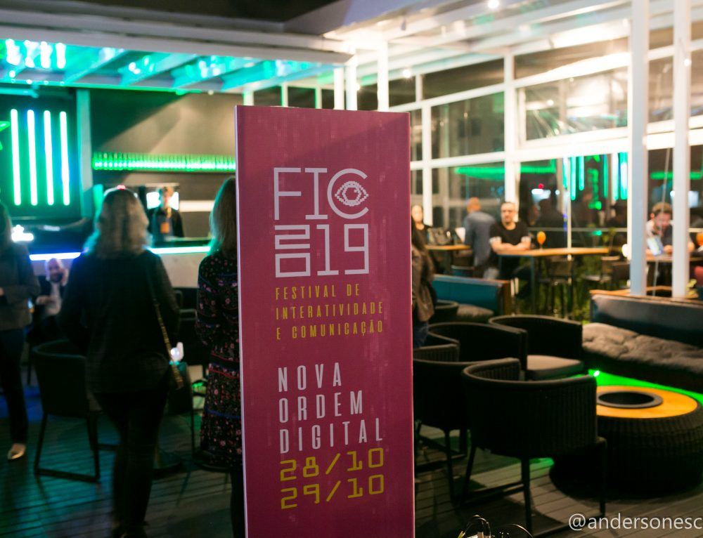 Festival de Interatividade e Comunicação, FIC19, dias 28 e 29 de outubro em Porto Alegre