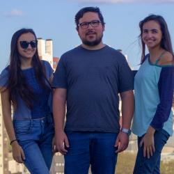 Tamara, Gabriel e Amanda